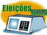 Rascunho das eleições municipais em Gentio do Ouro ano 2012: