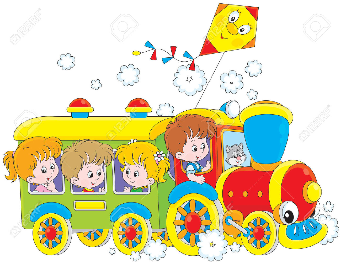 RAINBOW KID TRAIN