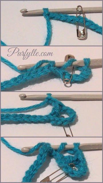 Eivor's Crochet Granny Square rows 1 - 2