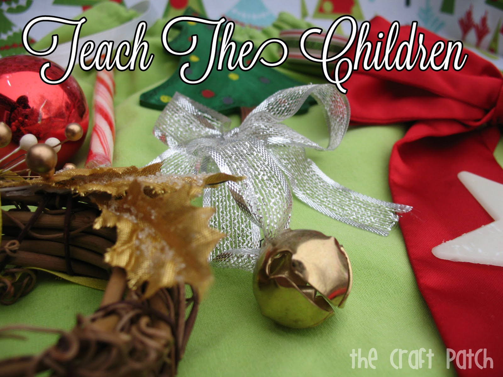 Teach The Children Christmas Activity Thecraftpatchblog