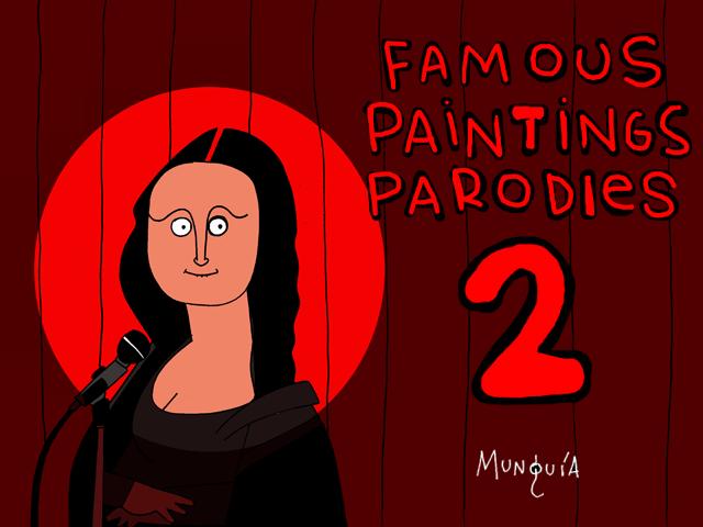 2da Parte del Quiz de Parodias de Pinturas Famosas