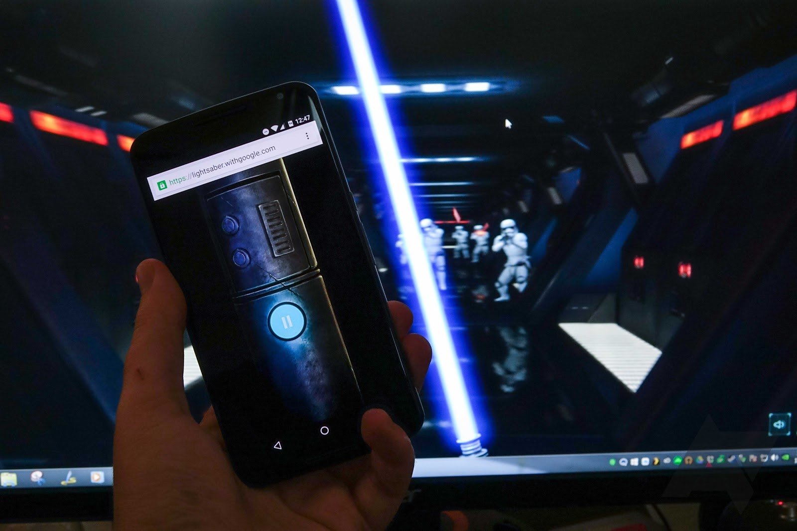 Wield Your Phone As A Lightsaber With Google's Latest Chrome Experiment