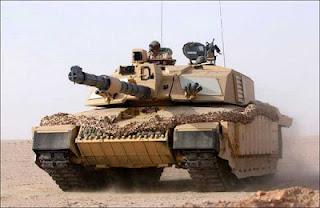 tank terkuat chalenger 2