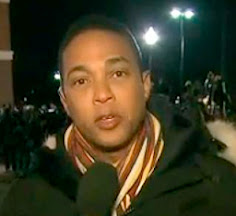 DON LEMON FIDDLES WHILE FERGUSON BURNS