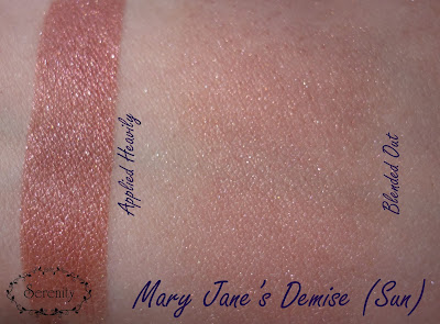 Notoriously Morbid Mary Jane's Demise Swatch