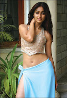 Telugu actress Ileana navel show