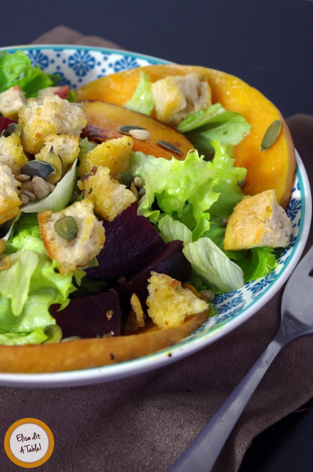 recette Salade d'automne