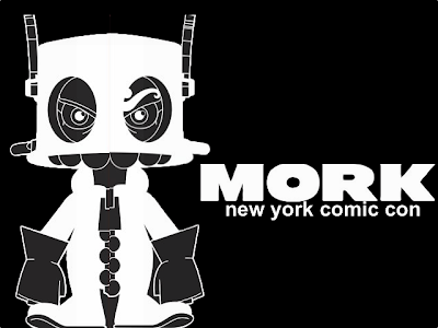 Pobber Toys Teaser Image: New York Comic-Con 2011 Exclusive Mork Vinyl Figure by MAD