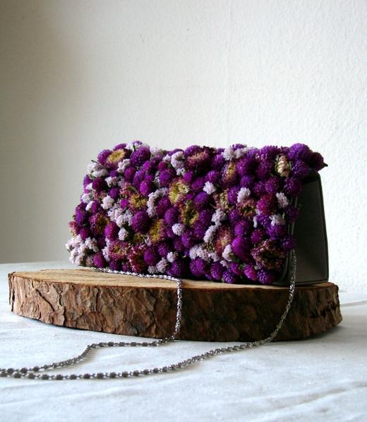 bag bouquet di fiori secchi