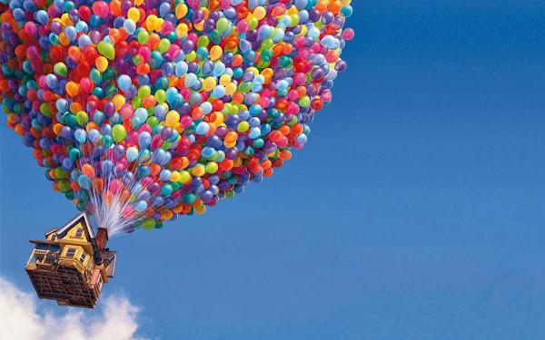 Disney Up Balloons