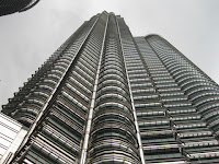 A view of the Petronas Twin Towers