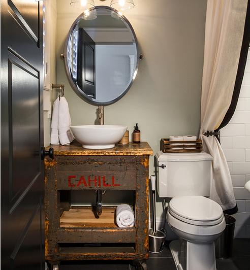 Amazing  Designs 142FV36 Rustic Chic 36quot Farmhouse Modern Bathroom Vanity