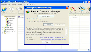 Internet Download Manager 6.0.6 Beta Build 3 Silent Install