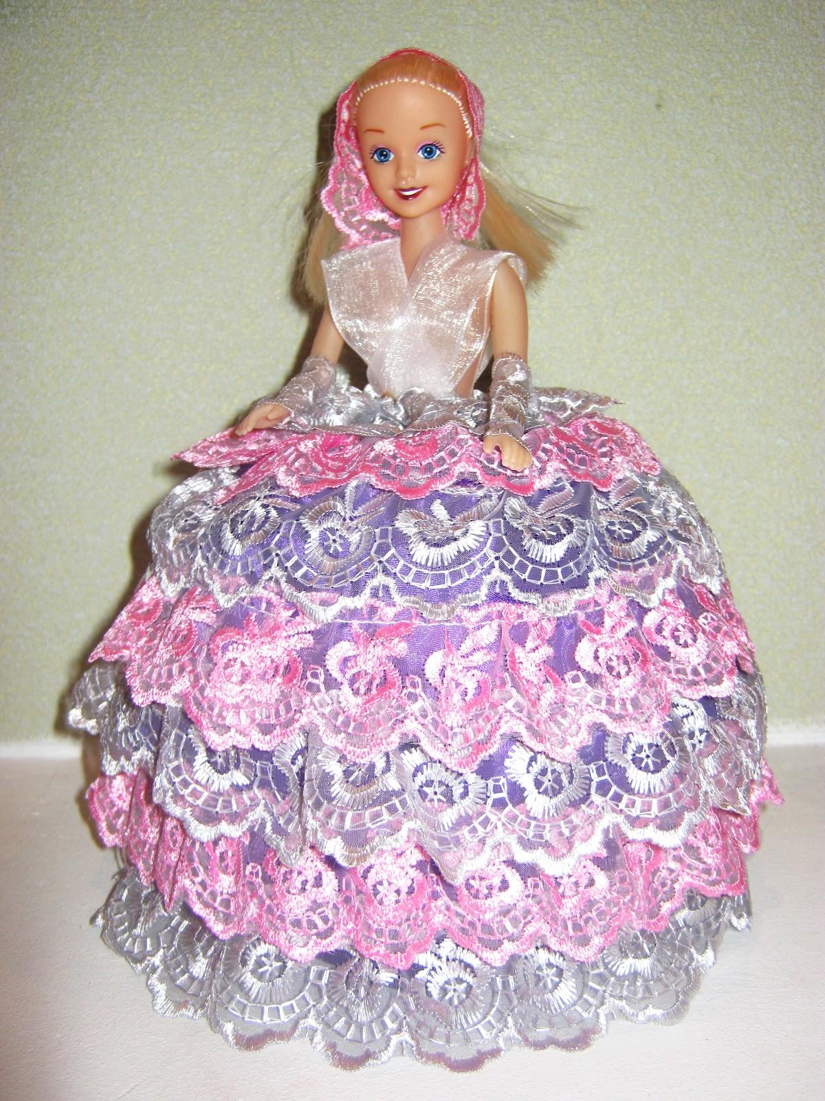 Кукла из пластиковой бутылки, шкатулка 6