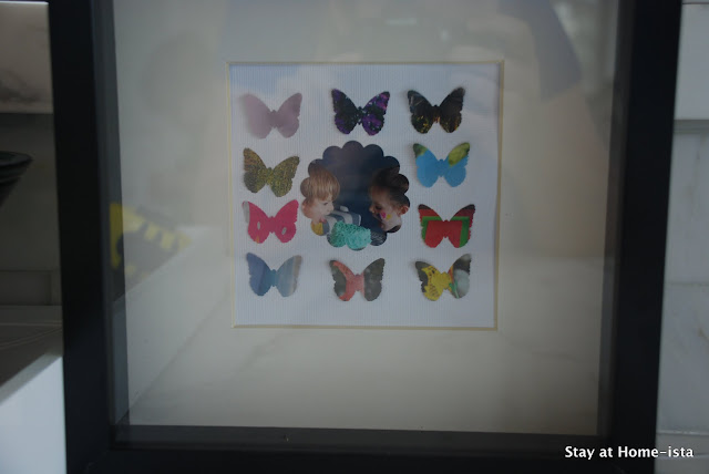 butterfly craft with magazine pages