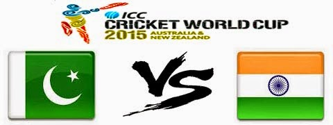 (WC2015)India Vs Pakistan 4th Match Pool B