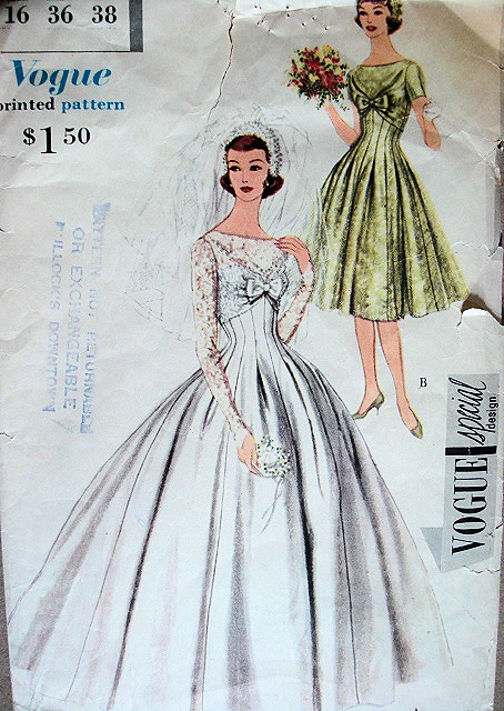 Grace Kelly Wedding Dress Pattern