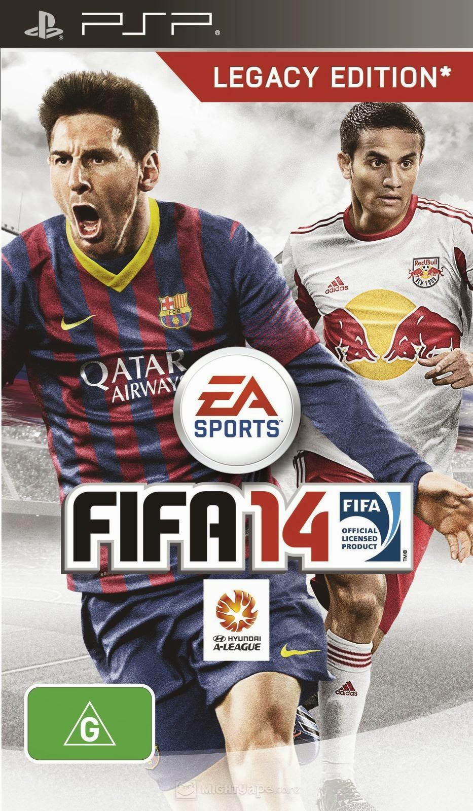 best psp games download  fifa 14