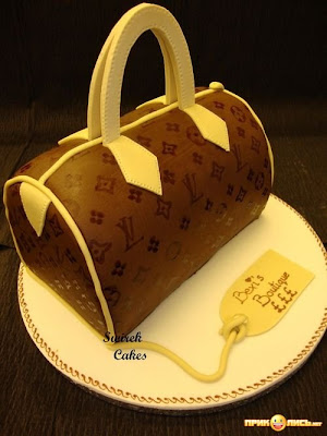 Funny Cake In Shape Of Bag