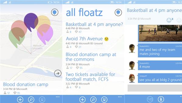 تطبيق Floatz