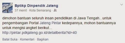 Suervey Portal Jateng Pintar