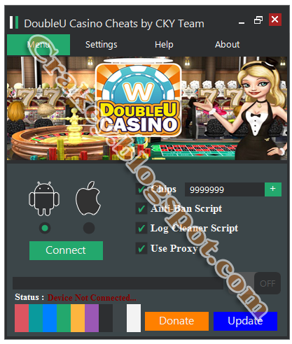 double u casino hack