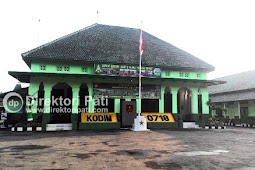 Lokasi Alamat Kodim 0718 Pati Jawa Tengah
