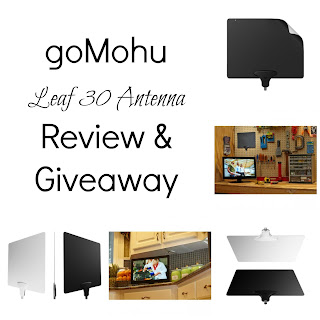 Enter the goMohu Leaf 30 Antenna Giveaway. Ends 10/10