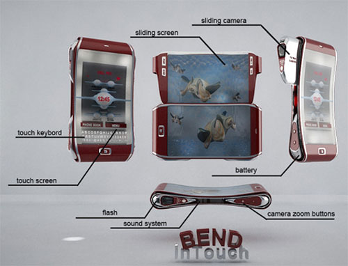 bend mobile phone