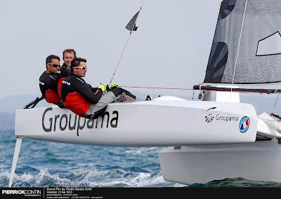 Franck Cammas et Groupama champions de France au GPEN.