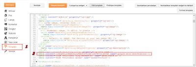 Mendapatkan Kode Verifikasi Google webmaster tools blog