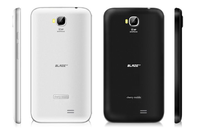 Cherry Mobile Blaze 2.0 Black and White