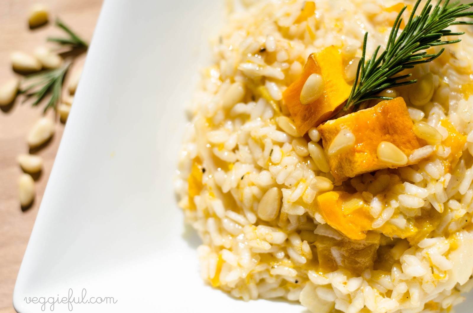 Pumpkin Risotto Vegan Recipe