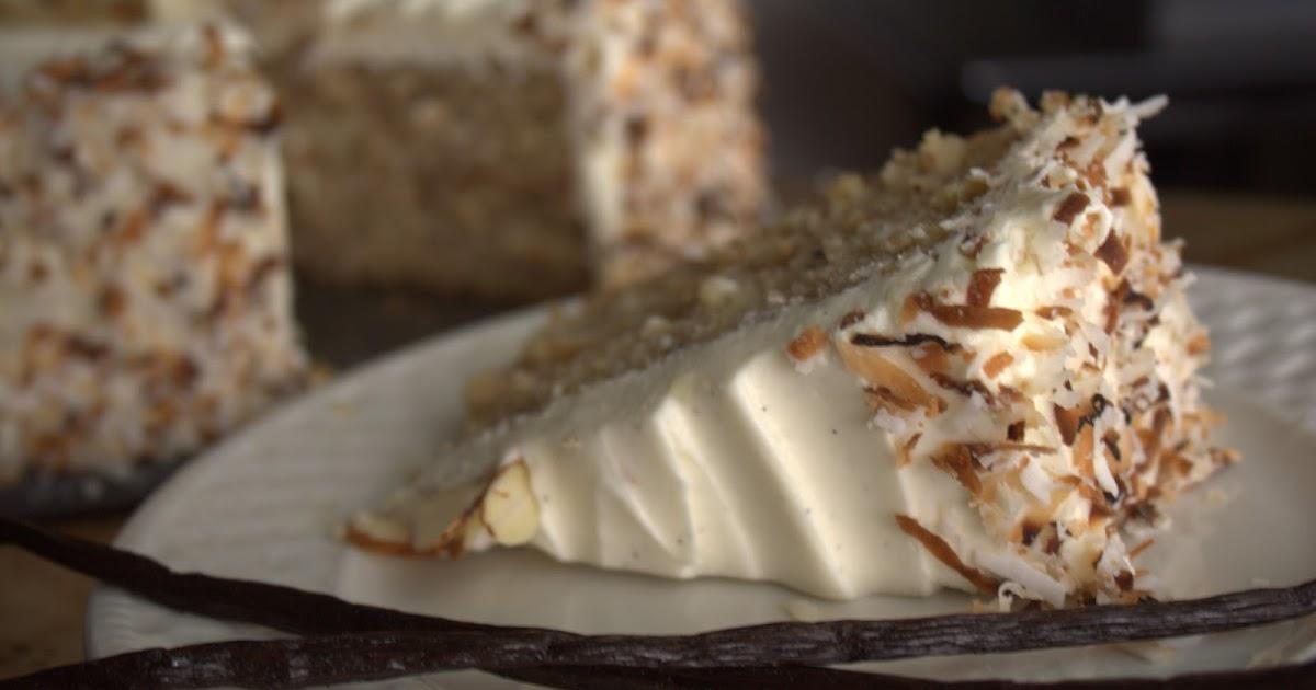 Willow Bird Baking Coconut Cake
