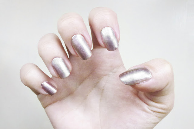 Topshop Nails in Moonshine