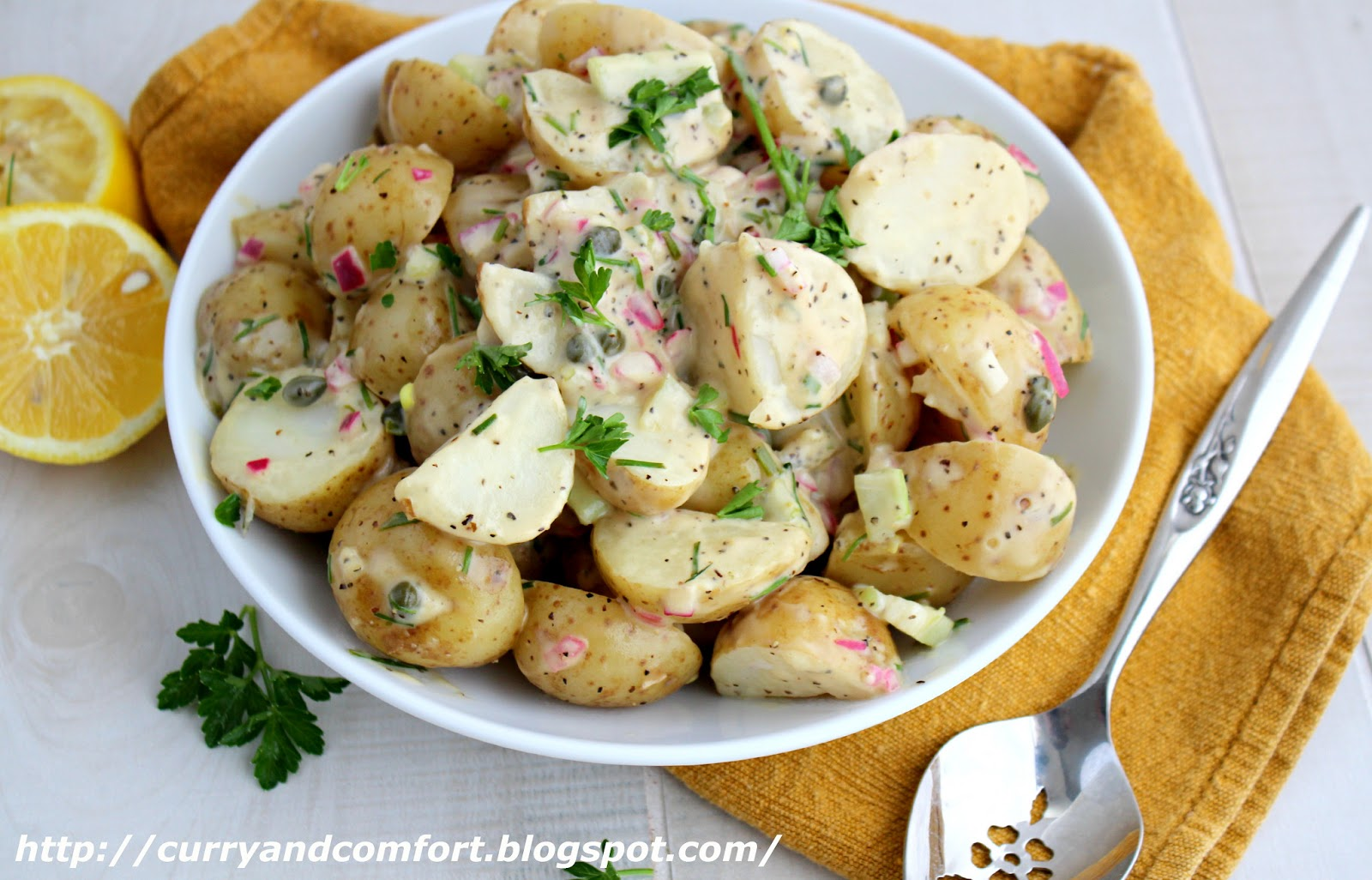 Kitchen Simmer: Lemon and Chive Warm Potato Salad