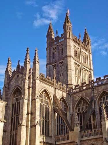 Bath Abbey Britain Visitor Blog