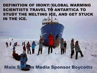 Global warming dose not exist?