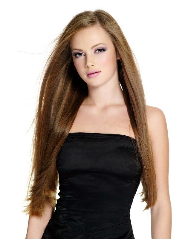 model rambut lurus