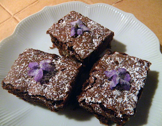 Plate of three Brownies