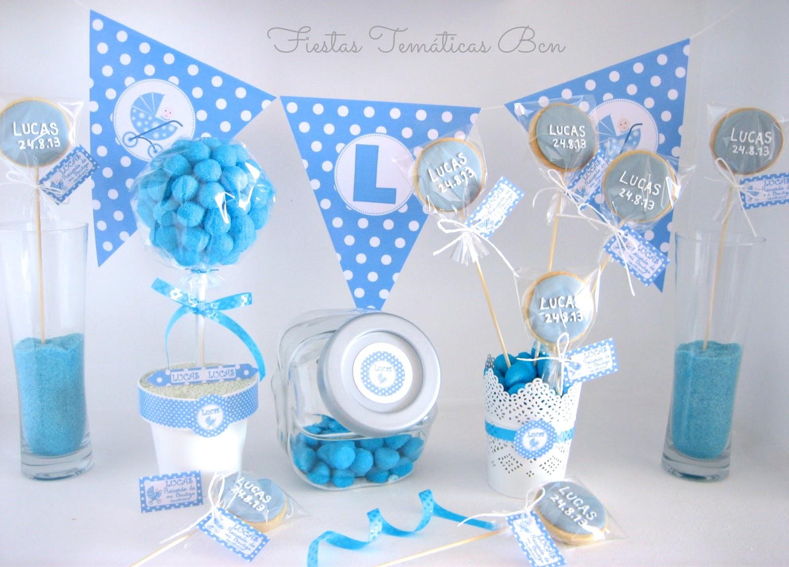 Fiestas tem ticas bcn kits de fiesta imprimibles for Decoracion de bautizo nino