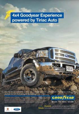 4X4 Goodyear Experience powered by Tiriac Auto