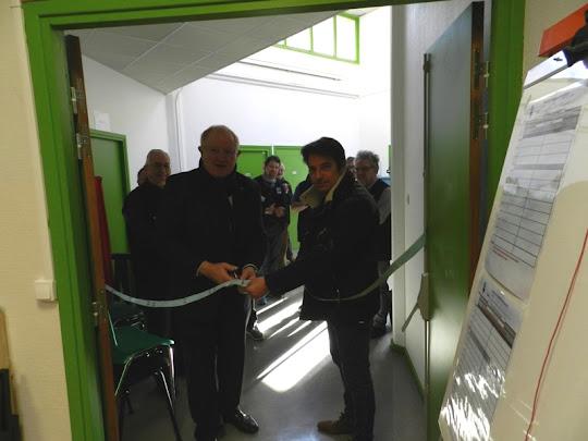 Inauguration de la salle dédiée à LPT
