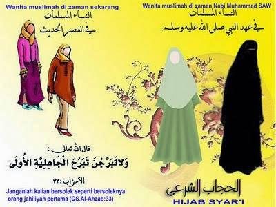 Kembali Pada Jilbab Syar'i