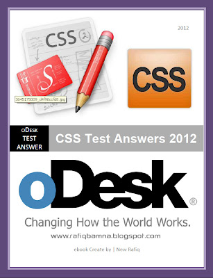 CSS Test Answers