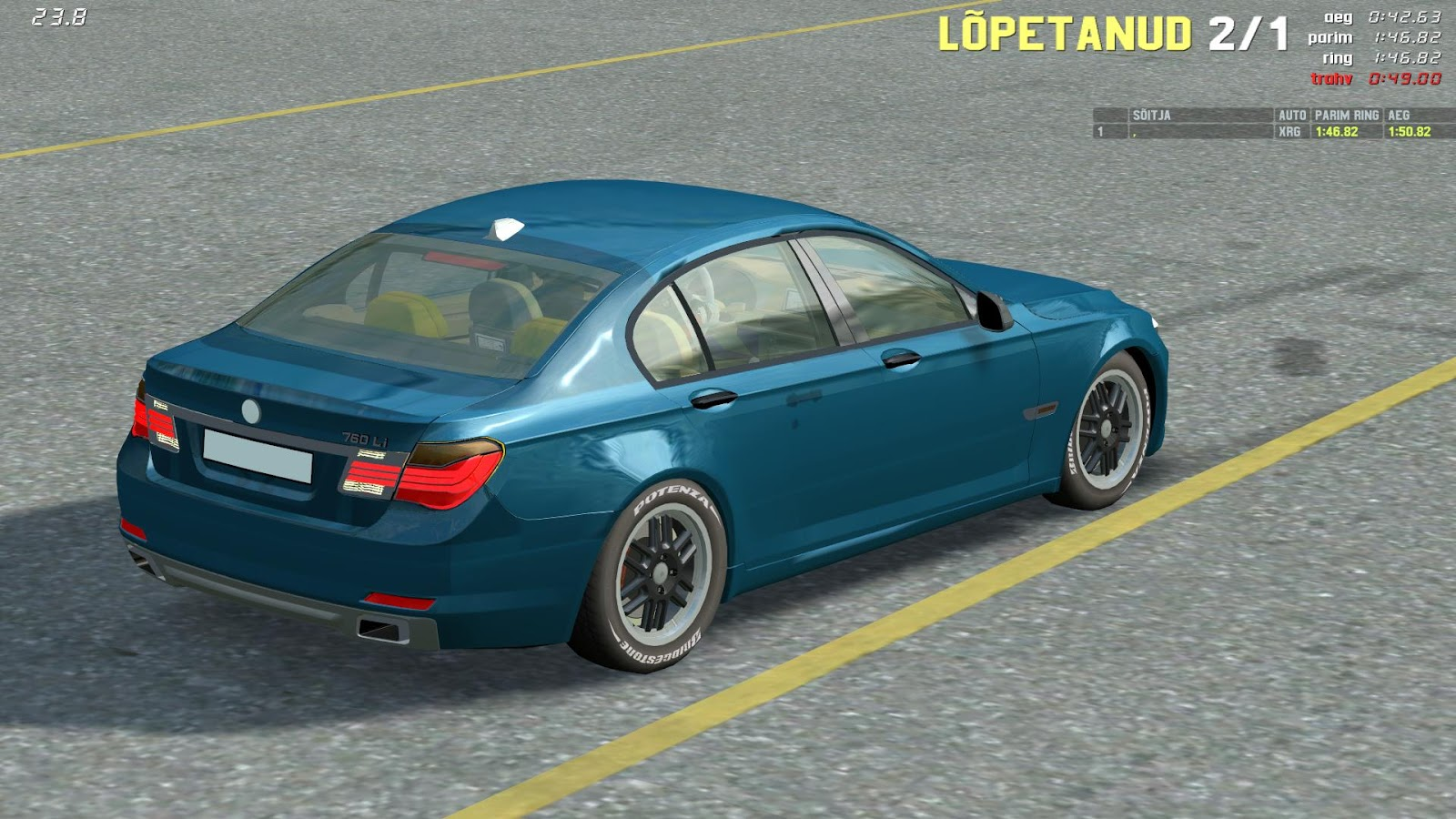 Live For Speed Mods BMW - 760 bmw