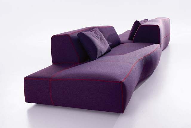 My magical attic b b italia bend sofa design by for B b couch