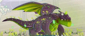 imagen del dragon toxico
