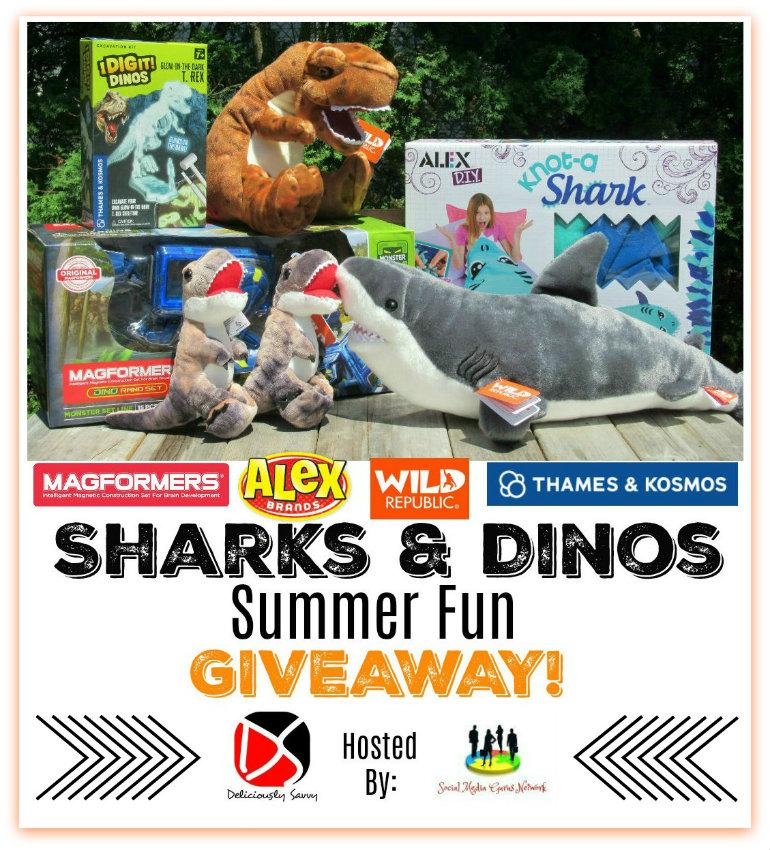 Sharks & Dinos Giveaway