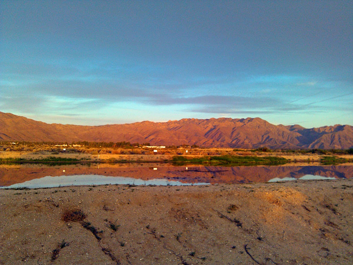 Borrego Springs waste treatment ponds